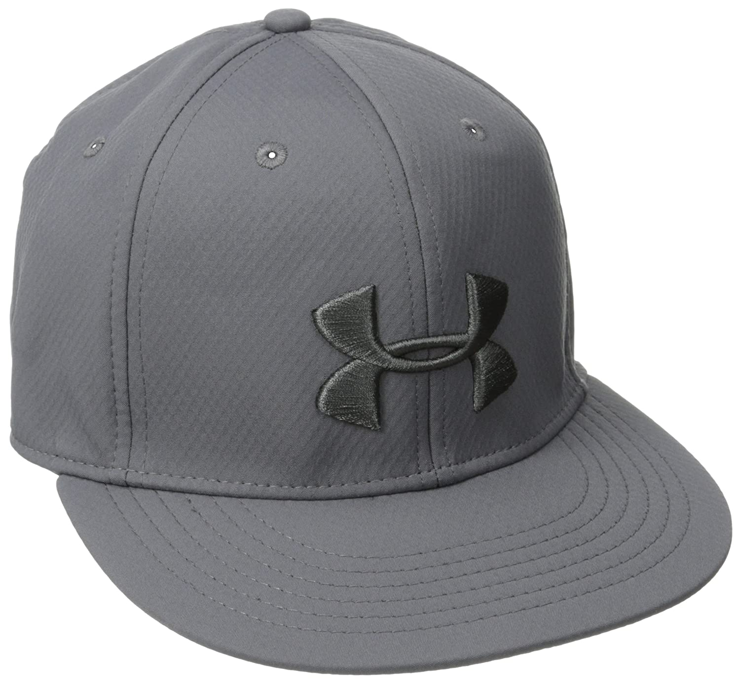 bc82bd9842c Amazon.com  Under Armour Men s Elevated Flat Brim Cap