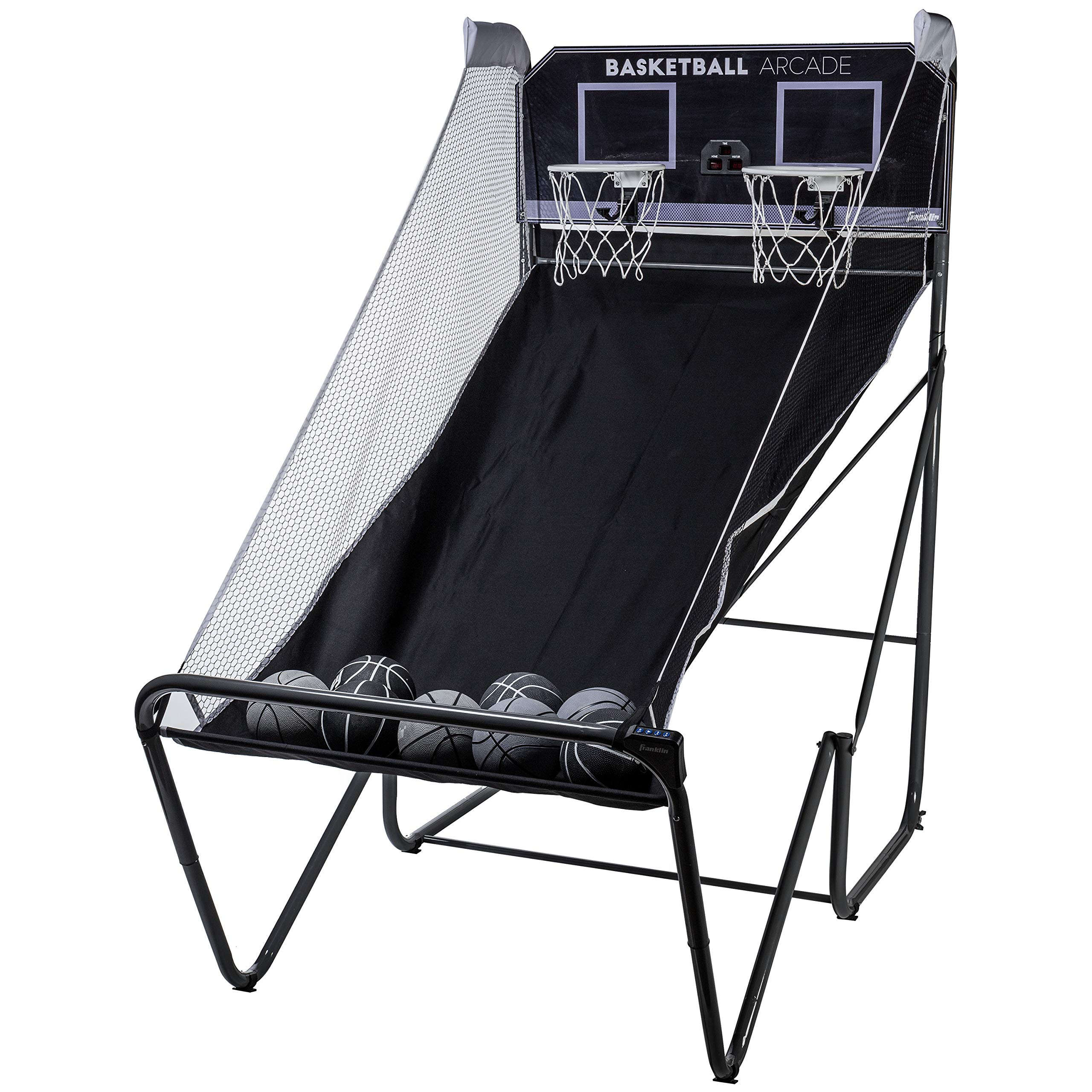 Franklin Sports Basketball Arcade - Indoor Basketball Hoop Game - Basketball Arcade Game - Play Indoor Basketball Hoops Anytime, Anywhere - Basketball Games for All Ages by Franklin Sports