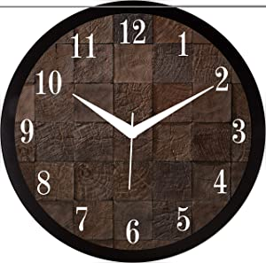 IT2M 11.75 Inches Designer Wall Clock for Home/Living Room/Bedroom/Kitchen (9234)