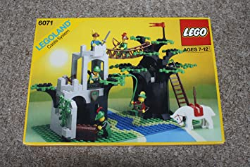 Lego Castle Forestmens Crossing 6071 Amazoncouk Toys Games