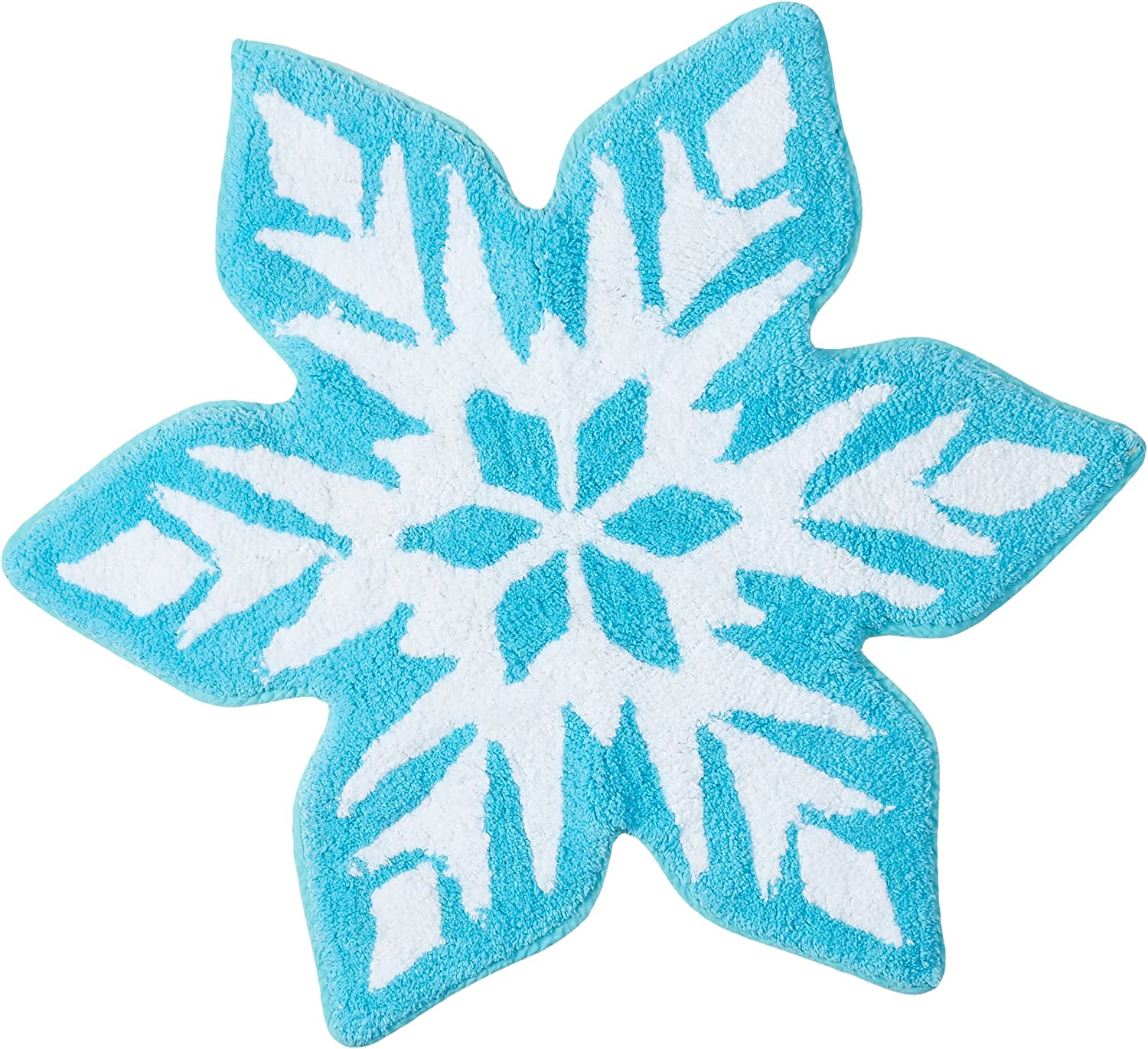 Disney Frozen Snowflake Cotton Tufted Bath Rug