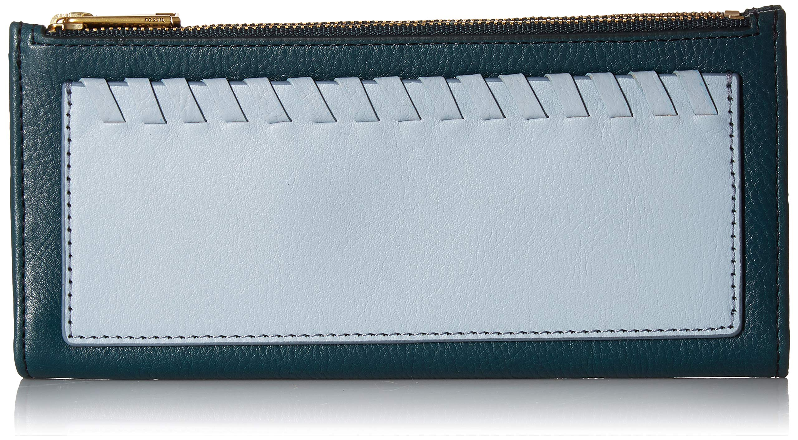 Fossil Shelby Clutch Indian Teal