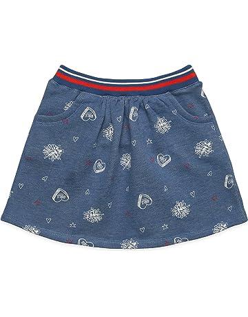Girls' Clothing (newborn-5t) Baby & Toddler Clothing 5 Girls Denim Jeans Ombre Blue Tiered Ruffle Tutu Skirt Skort Elastic Cotton