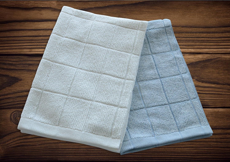 Amazon.com: Absorbent, Quick-Drying Kitchen Dish Towels | Premium ...