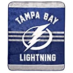 NHL Luxury Velour High Pile Blanket - Twin Size 60 x 70 Inch