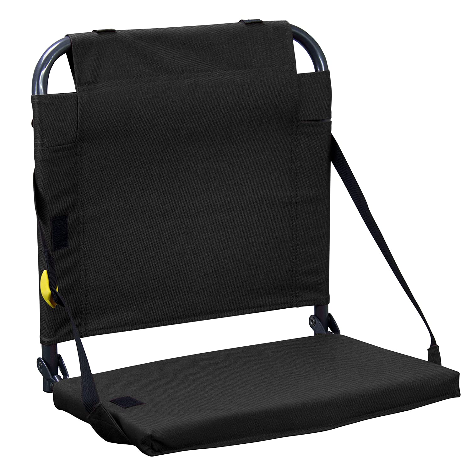 Amazon GCI Outdoor Bleacher Back Chair Black Sports