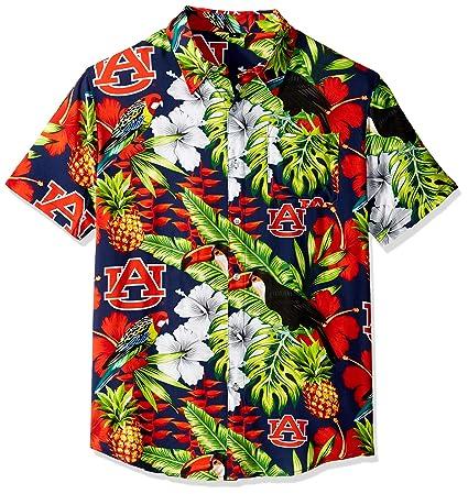 Amazon.com   NCAA Mens Floral Button Up Shirt   Sports   Outdoors d5bb68a9e