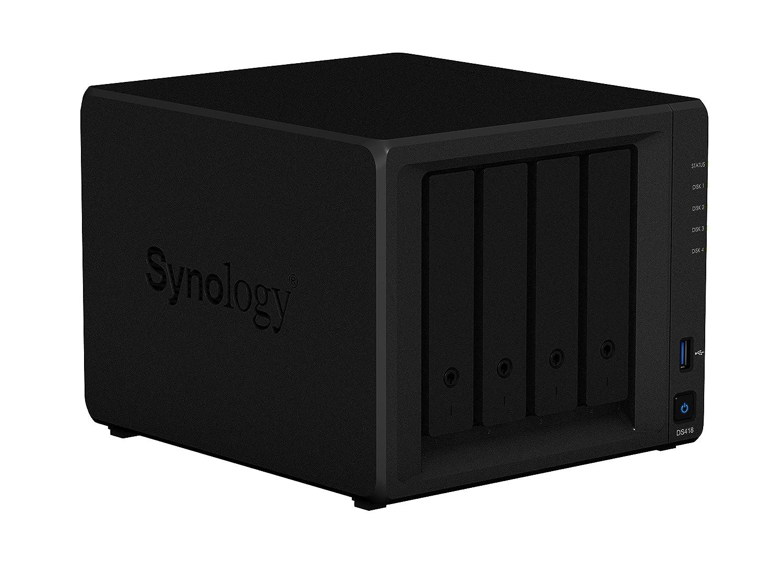 Synology 4 bay NAS DiskStation DS418 (Diskless)
