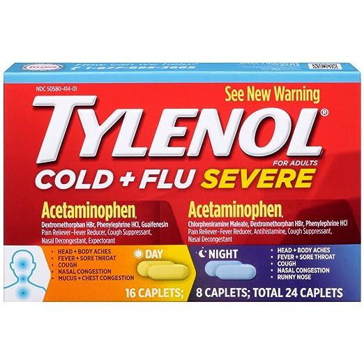 Tylenol Cold + Flu Medicine $5...