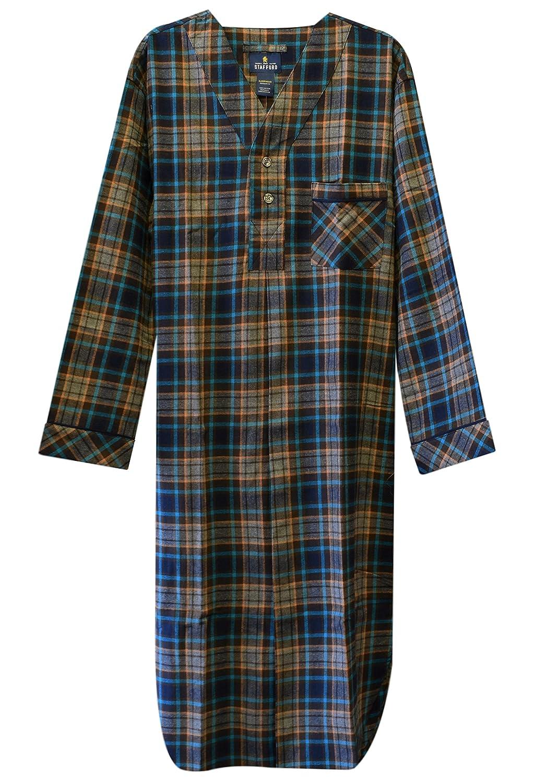 Stafford Men's Flannel Nightshirt P83957
