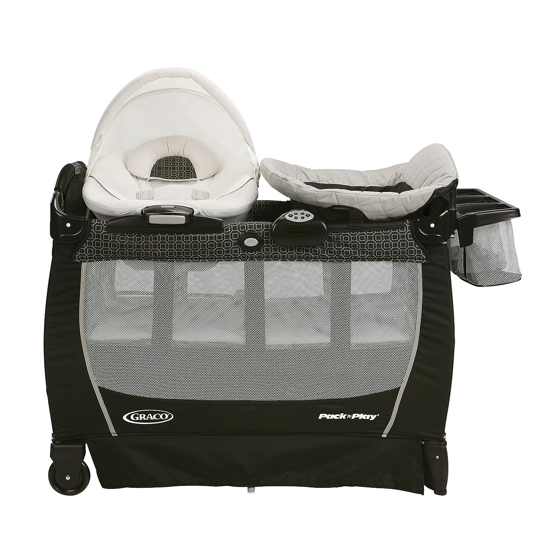 30092074d Amazon.com : Graco Pack 'n Play Playard Snuggle Suite LX, Abbington : Baby