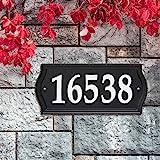 Whitehall Nite Bright Ashland Reflective Address Numbers Sign (14340)