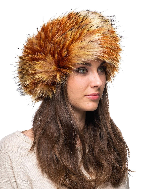 1af7522bd48 Futrzane Winter Faux Fur Headband for Women and Girls Futrzane-opaska-5  Clothing