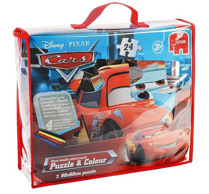 Disney Pixar Kleurplaten.Disney Pixar Cars Puzzle And Colour 24 Piece Giant Jigsaw Puzzle