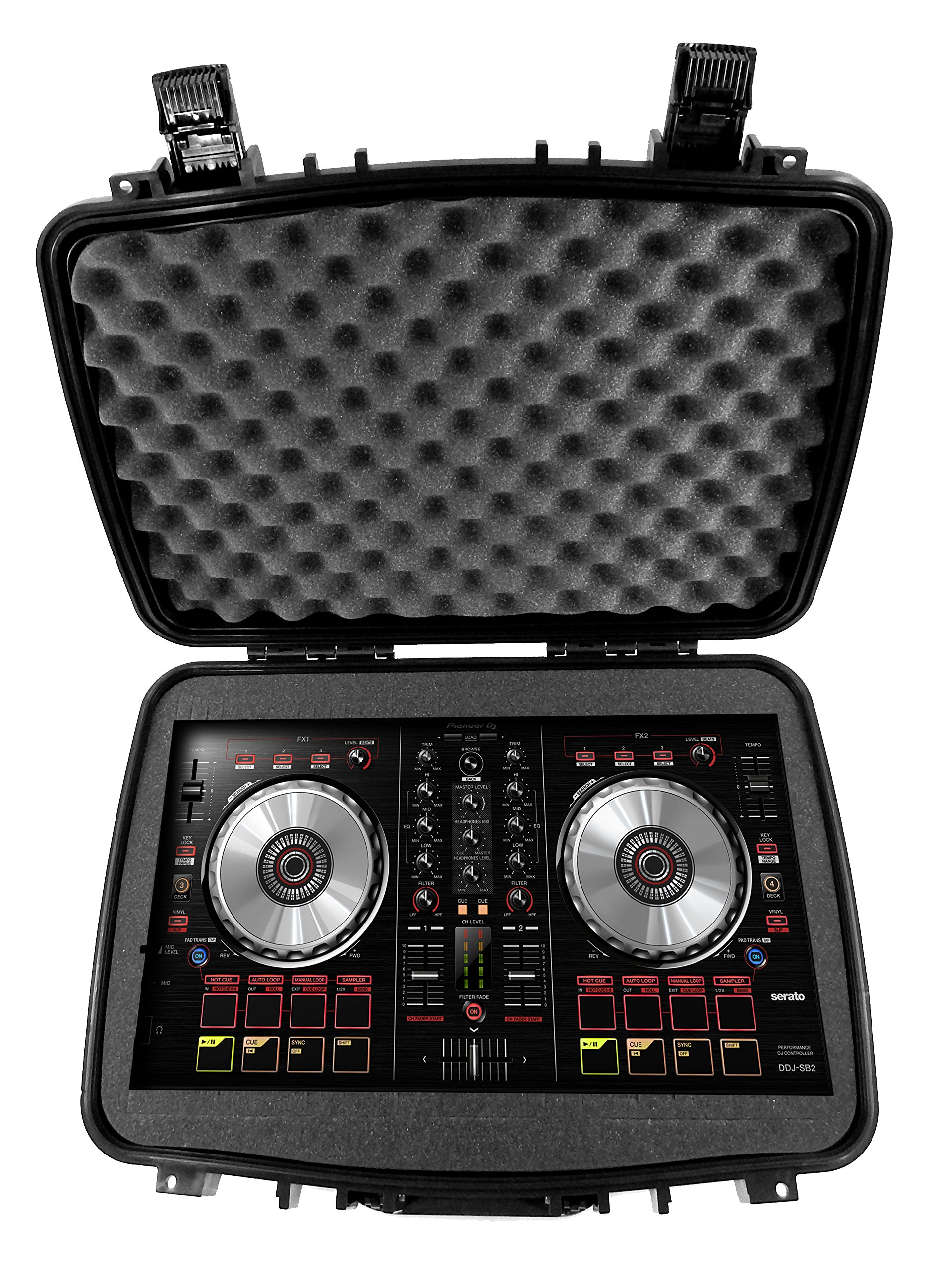 DJ Transporter Case 22'' for Mixer , Controller or Player - Fits Pioneer DDJ-RB / DDJ-SB2 / DDJ-WeGO3-W / DDJ-WeGO4-K / CDJ-2000NXS2 / CDJ-900NXS / XDJ-1000 / XDJ-1000MK2 / XDJ-700 / DJM-S9 DJM-450 350