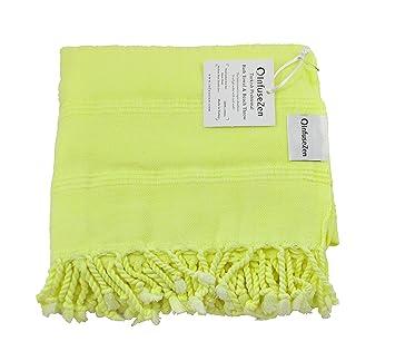 Neón turco toalla, toalla de playa o piscina, extra grande toalla de baño toalla de gran ...