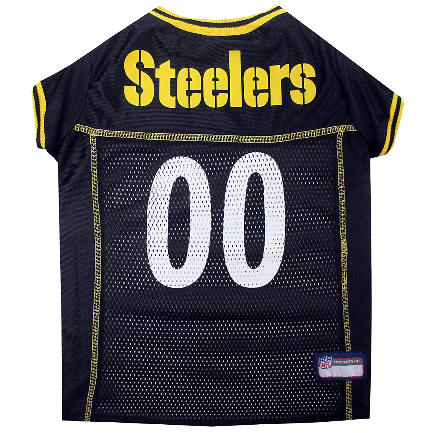 Pets First Pittsburgh Steelers Mesh Jersey, XX-Large PIT-4006-XXL