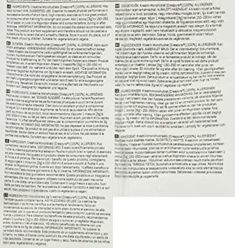 MyProtein Creapure Creatina Monohidrato - 1000 gr: Amazon.es ...