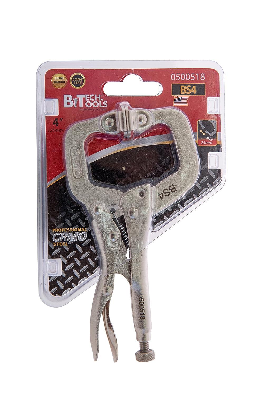 B.Tech 4 adjustable locking welding grip C clamp.