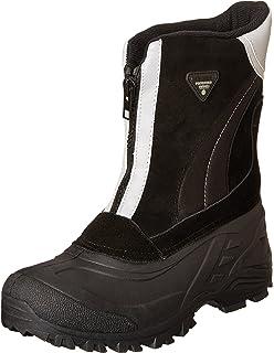 2694688112f Amazon.com   totes Men's Glacier-Zip Ankle-High Leather Boot   Chukka