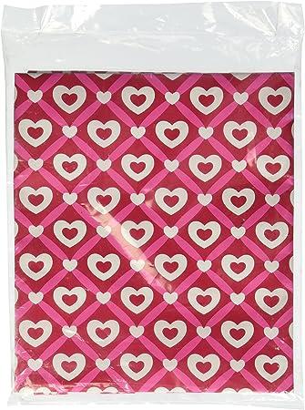 Amazon Com Heart Lattice Valentine S Day Gift Wrap Flat Sheet 24 X