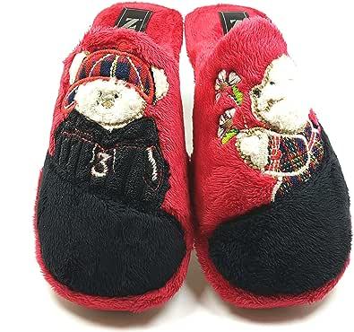 Zapatillas casa Invierno Mujer cómodas Calientes Suaves Piso Pluma Ligero Pantuflas Confort Calidad diseño y fabricación española Slippers Home: Amazon.es: Zapatos y complementos
