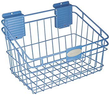 Superior Suncast MB0812 Wire Basket 8x12 Inch, Blue