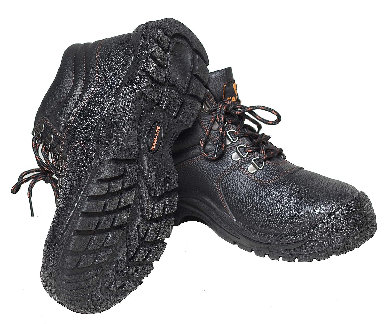 Hombres Seguridad para Botas de Trabajo de Puntera de Acero Zapatos de Seguridad Impermeable de Antideslizante Calzado de Trabajo Zapatos de Seguridad al Aire Libre Construcci/ón Botas de Seguridad