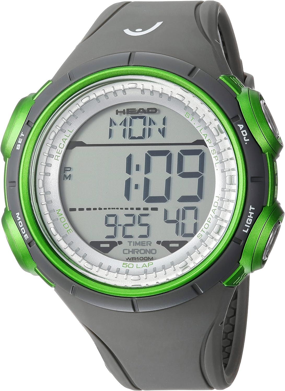 Head Reloj Digital para Hombre de Cuarzo con Correa en Caucho HE-100-02