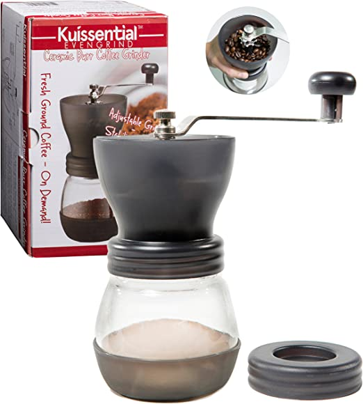 Molinillo de caf/é Manual para 30 g de Acero Inoxidable Porlex JP-30 Color Plateado