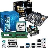 INTEL Skylake Pentium G4400 3.3Ghz, ASUS H110M-A CPU & Motherboard Bundle (4GB DDR4 2133Mhz)