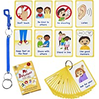My Behaviour Cards 27 Flash Cards for Visual aid Special Ed, Speech Delay Non Verbal Children and Adults with Autism or…