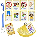 My Behaviour Cards 27 Flash Cards for Visual aid Special Ed, Speech Delay Non Verbal Children and Adults with Autism or Speci