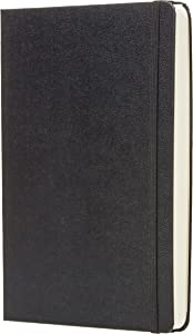"""AmazonBasics Daily Planner and Journal - 5.8"""" x 8.25"""", Hard Cover"""