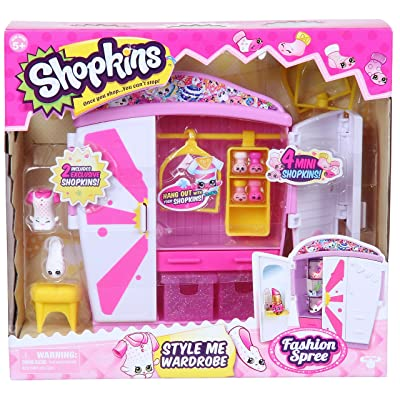 Shopkins Style Me Wardrobe Fashion Playset: Toys & Games [5Bkhe1907144]
