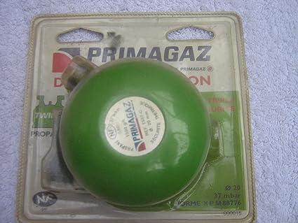 descompresor Clip On Primagaz propano Twiny verde