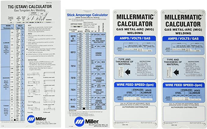 Amazon Com Miller Electric 043125 Package Calculator Welding Wire Electronics