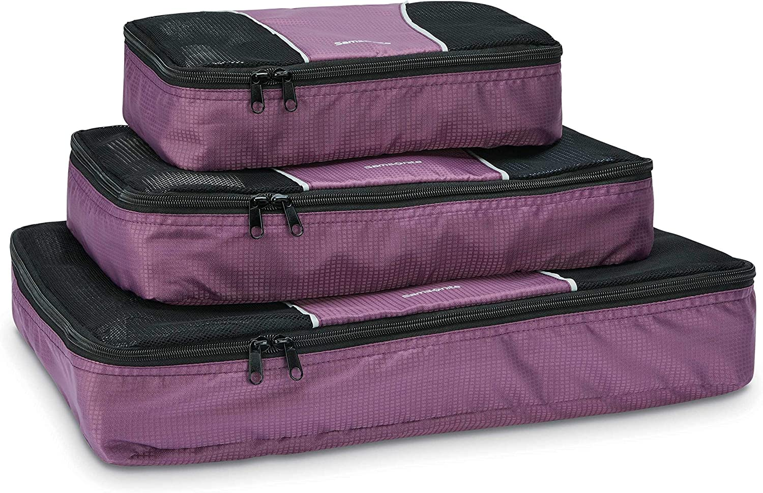 Charcoal Samsonite 3 Piece Packing Cube Set