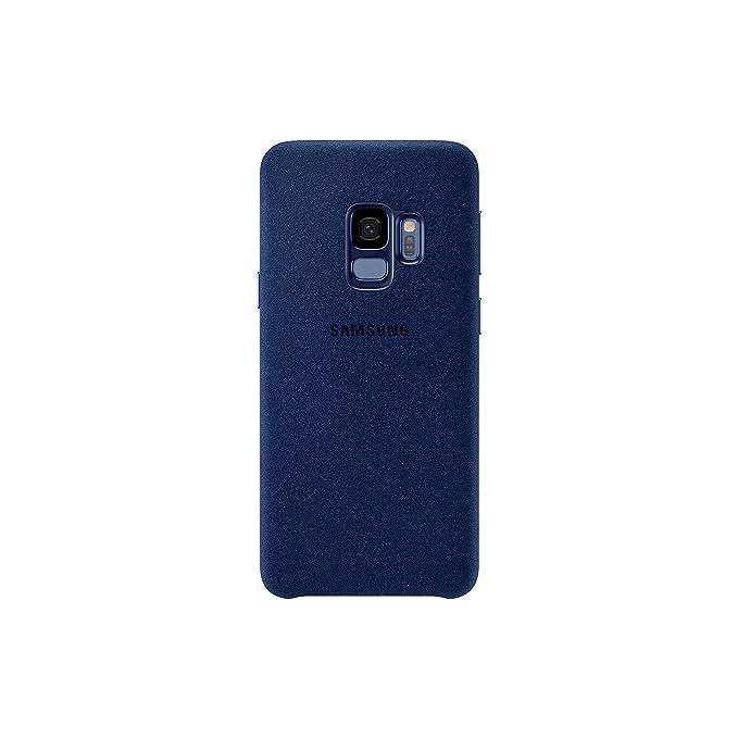 sports shoes b835d ddffc Official OEM Samsung Galaxy S9 Alcantara Cover (Blue)