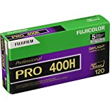 Fujifilm Fujicolor Pro 400H Color Negative Film ISO 400, 120mm, 5 Roll Pro Pack (Discontinued by Manufacturer)