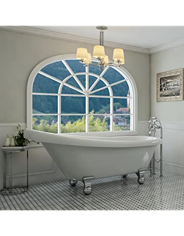 4 foot clawfoot tub old fashioned price129995 clawfoot bathtubs amazoncom kitchen bath fixtures