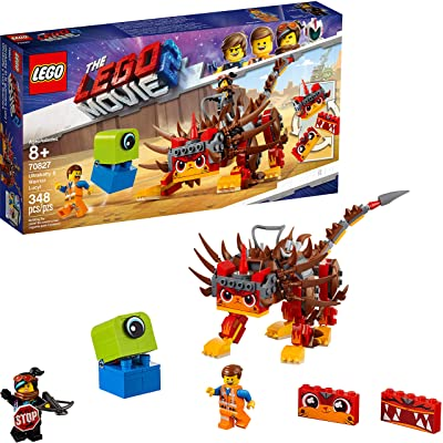 LEGO THE LEGO MOVIE 2 Ultrakatty & Warrior Lucy; 70827 Action Creative Building Kit for Kids (348 Pieces): Toys & Games