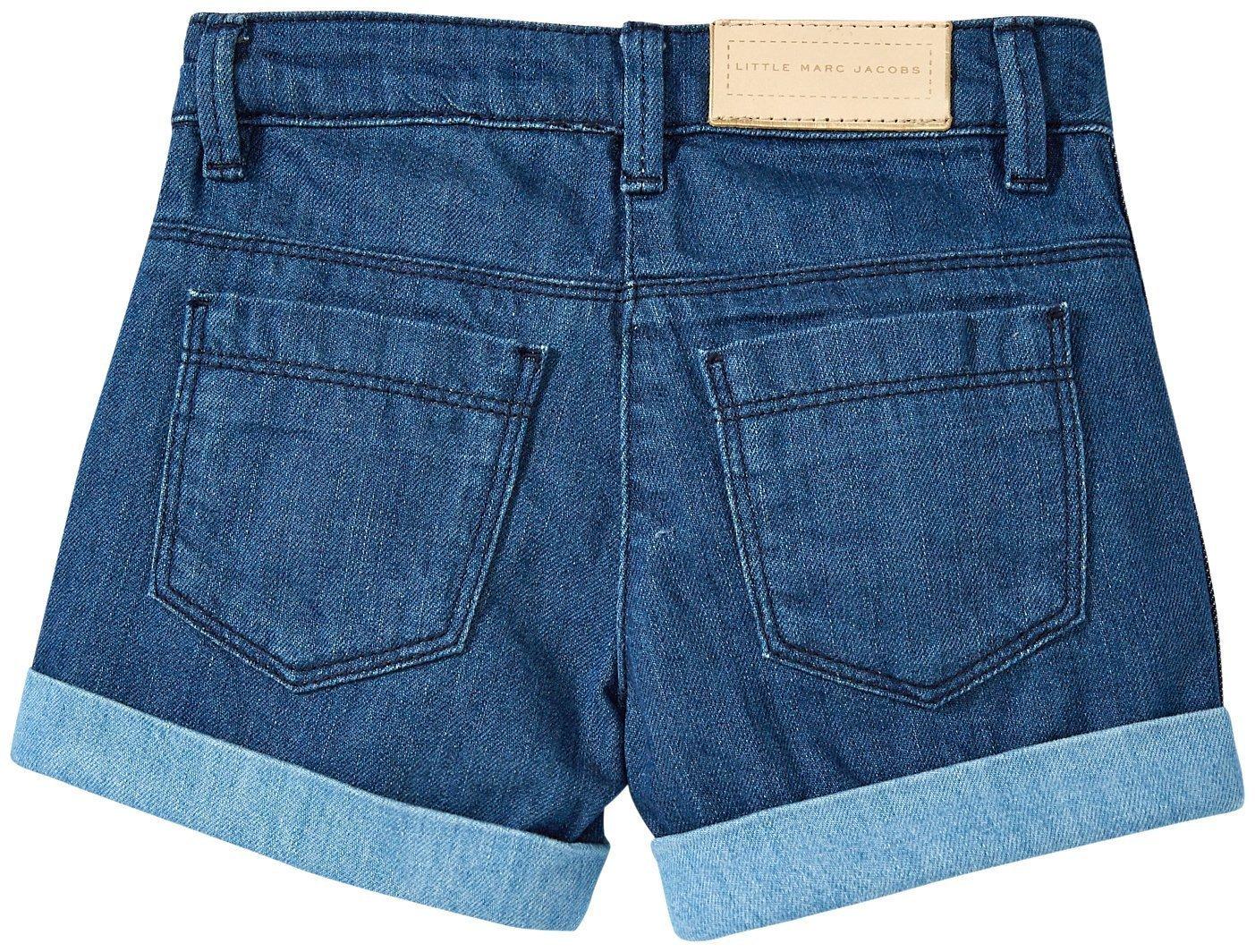 Little Marc Jacobs Denim Shorts, Blue, 2A by Little Marc Jacobs (Image #2)