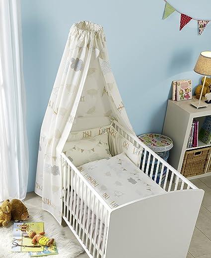 Oliver Junior Set en caja de cartón, ropa de cama, cuna,