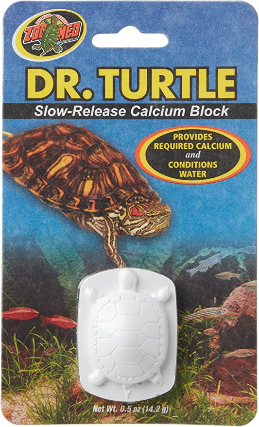 Zoo Med Laboratories Szmmd11 Dr. Turtle Slow-Release Calcium Block, Net Wt .5 Oz