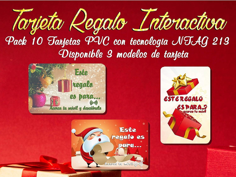 Pack 10 Tarjetas PVC con tecnologia NTAG 213 - TARJETA ...