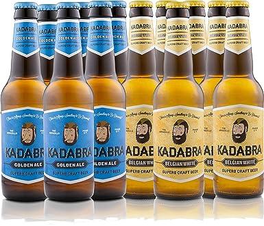 Cerveza KADABRA Pack degustación Play Futbol 12 unidades de 33cl ...