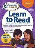 Amazon Exclusive Hooked On Phonics LTR Kindergarten Word Families 3&4 w/BONUS DVD