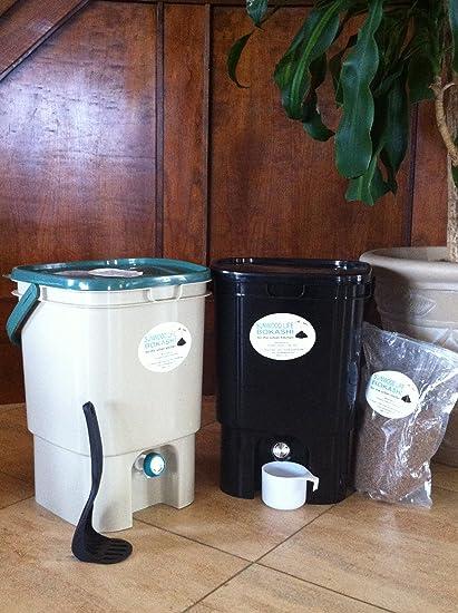 Amazon.com: Bokashi Compost Kit- individual bucekts Modelo ...