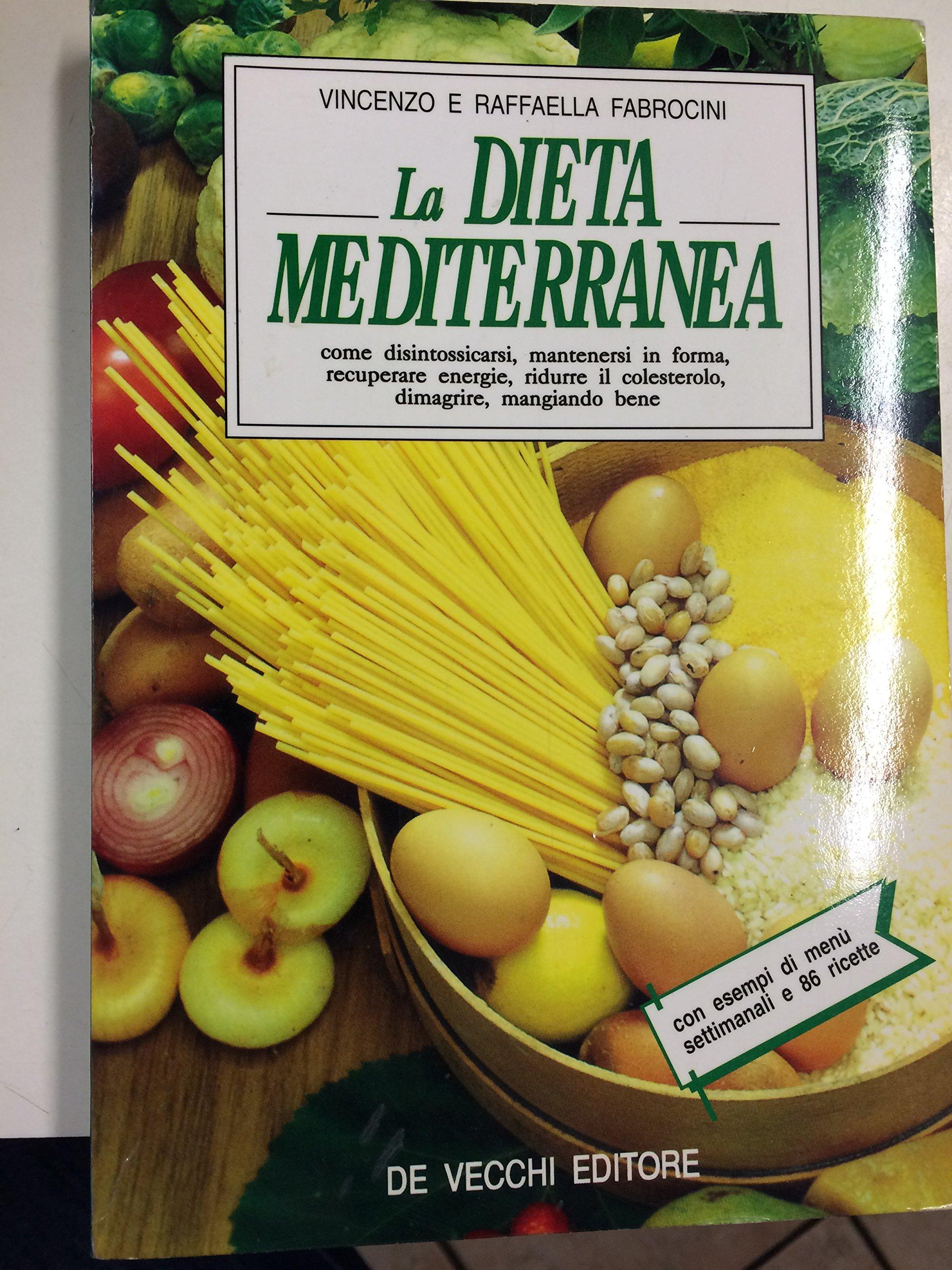 menu di una dieta mediterranea